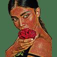 Girl's flower..