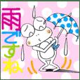 ひまぴょん21 雨の日・大雨・台風