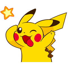 Pikachu S Lively Voiced Stickers Line Stickers Line Store