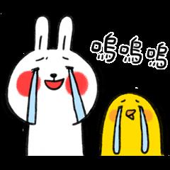 懶散兔與啾先生:OS職場人生
