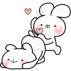緩緩×甜心♡熊兔寶+11