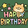 HAPPY shiba inu BIRTHDAY