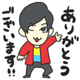 Kensuke Takahashi illustration sticker