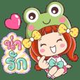 Nanny cute frog