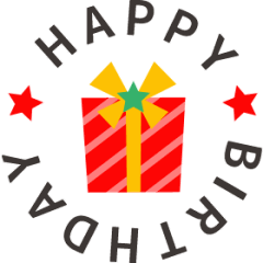 Celebrate with stylish moving stickers!