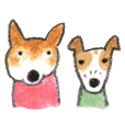 Ai Akikusa's Dogs sticker