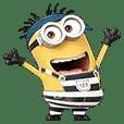 「怪盗グルーのミニオン大脱走」スタンプ