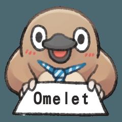 自稱Omelet的奇妙動物
