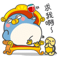 企鵝咚咚與胖胖日常生活1