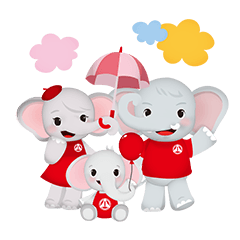 The First insurance elephant family