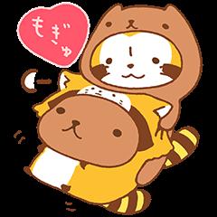 水豚君×小浣熊