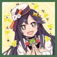 彩咲茜の清楚なスタンプ第二弾