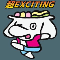 Elephant's Udon Noodle Sticker IMPACT