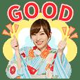 AKB48 神7!浴衣でポップアップ