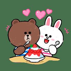 熊大&兔兔(甜蜜放閃篇)
