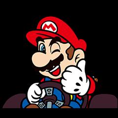 マリオカート GO!GO! スタンプ | LINE STORE