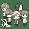 LAID BACK OCEANスタンプ第2弾!!