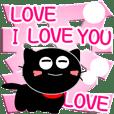 友達は黒猫さん26【とってもデカ文字】