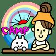 ★うさぎとキャンプ★CAMP★