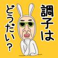 うさぎのおっさん 01 日本語