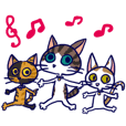 3cheerfulcats