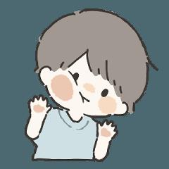 だいすきなきみへ2(男の子) - LINE スタンプ   LINE STORE