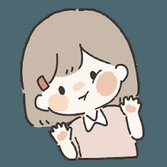 だいすきなきみへ2(女の子) - LINE スタンプ   LINE STORE