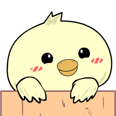 Adorable young Chick : Animated