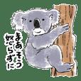 Annoying cute aquatic animal stickers 2