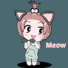 Momo the cat lover
