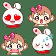 Emoji Bubu & Kiki Ver.Bigsize I