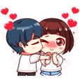 Koji-kun with Aiko-chan
