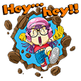 Pop-up! Stiker Dr. Slump dan Arale