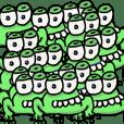 mentally retarded frog