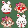 Emoji Bubu & Kiki Ver.Bigsize III