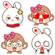 Emoji Bubu & Kiki เวอร์ชั่น บิ๊กไซส์ III