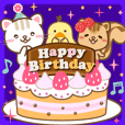 Natural design celebration birthday eng