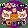 Halloween Pig Year