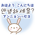 Korean and Japanese Bilingual stickers