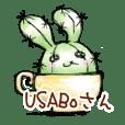 Cactus rabbit USABOsan