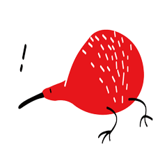 紅色奇異鳥