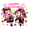 Happy Halloween Peko Sticker