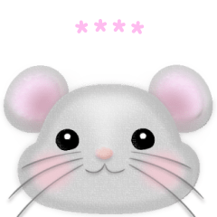 Macaron Mouse, Custom Face Sticker