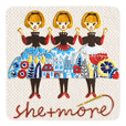 she+more's Embroidery Sticker vol.1