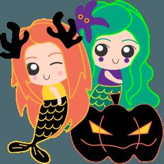 Besty Mermaid Halloween