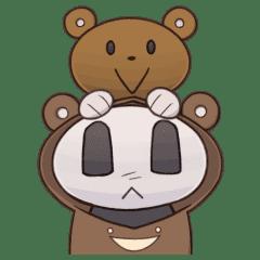クマのふりするパンダちゃん その2