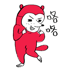 Mr.red raccoon