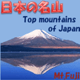 Top mountains of Japan