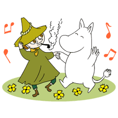Moomin動態敬語貼圖