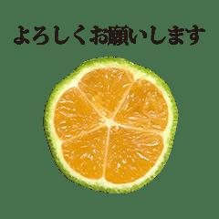 みかんみたいなレモン と 敬語